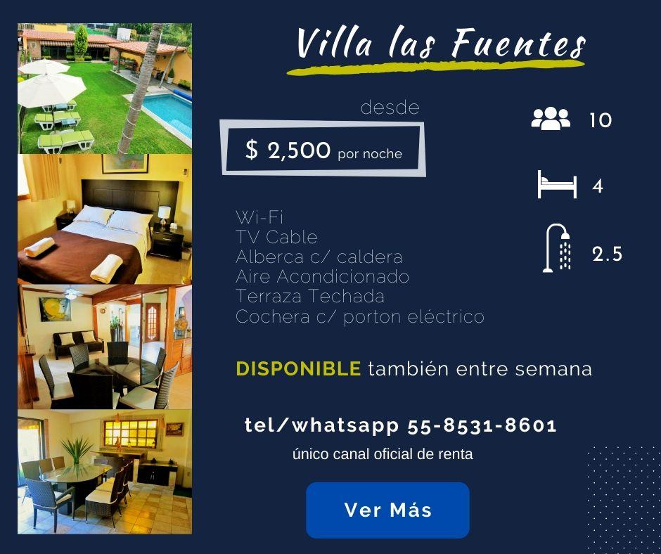 Portada Villa las Fuentes